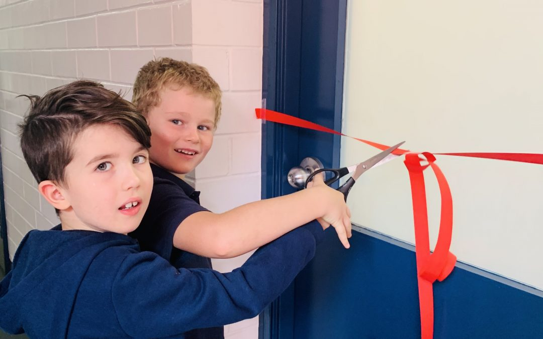 Opening of Eugenie Gilbert toilets