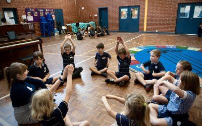 Performing Arts at Grange Primary School.