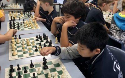 Chess at Grange.