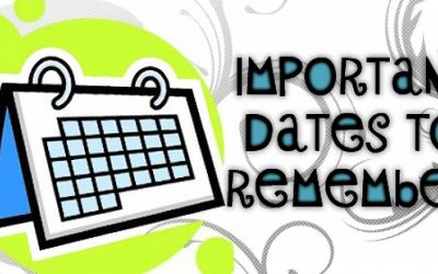Term 3 dates to remember